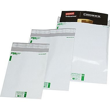 "Durable Polyethylene Mailers, 24"" x 24"", 50/Case"