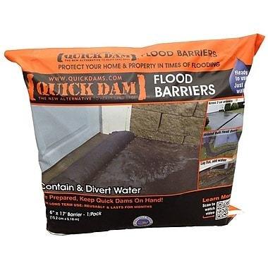"""Quick Dam Flood Barriers, 6"""" x 17'"""
