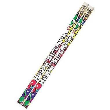 Musgrave Happy Birthday From Your Teacher Pencil, 12/Pack