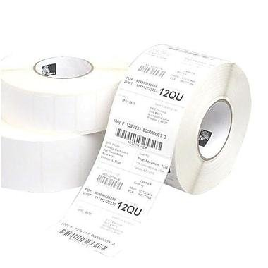 "Zebra Z-Select 4000D Paper Direct Thermal Label, White, 2""L x 2.25""W, 1370 Labels/Roll, 12 Rolls/Pack"