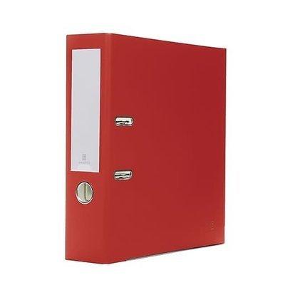 Bindertek 2-Ring 3-Inch Premium Binders, Red