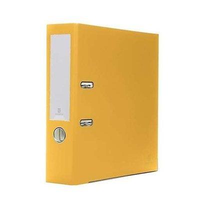 Bindertek 2-Ring 3-Inch Premium Binders, Yellow