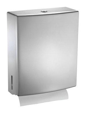 ASI Paper Towel Dispenser, Satin Finish