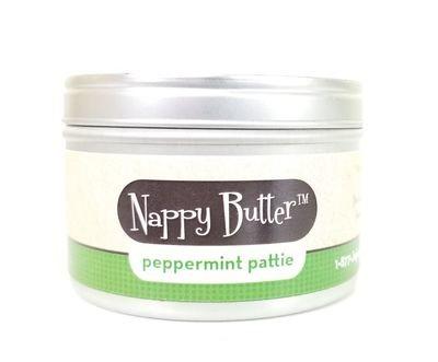 Nappy Butter peppermint pattie 8 oz