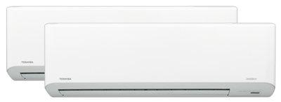 Toshiba Multisplitt med 7 Polar Inkl. Std. Montasje