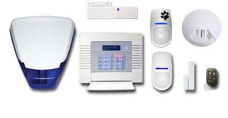 Home Wireless Intruder Alarm System (Pyronix Enforcer) inc Installation