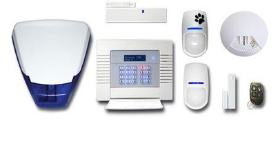 Home Wireless Intruder Alarm System (Pyronix Enforcer) inc Installation