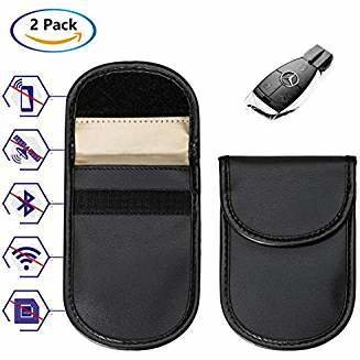 Signal Blocking Pouch For Car keys (Pack of 2)