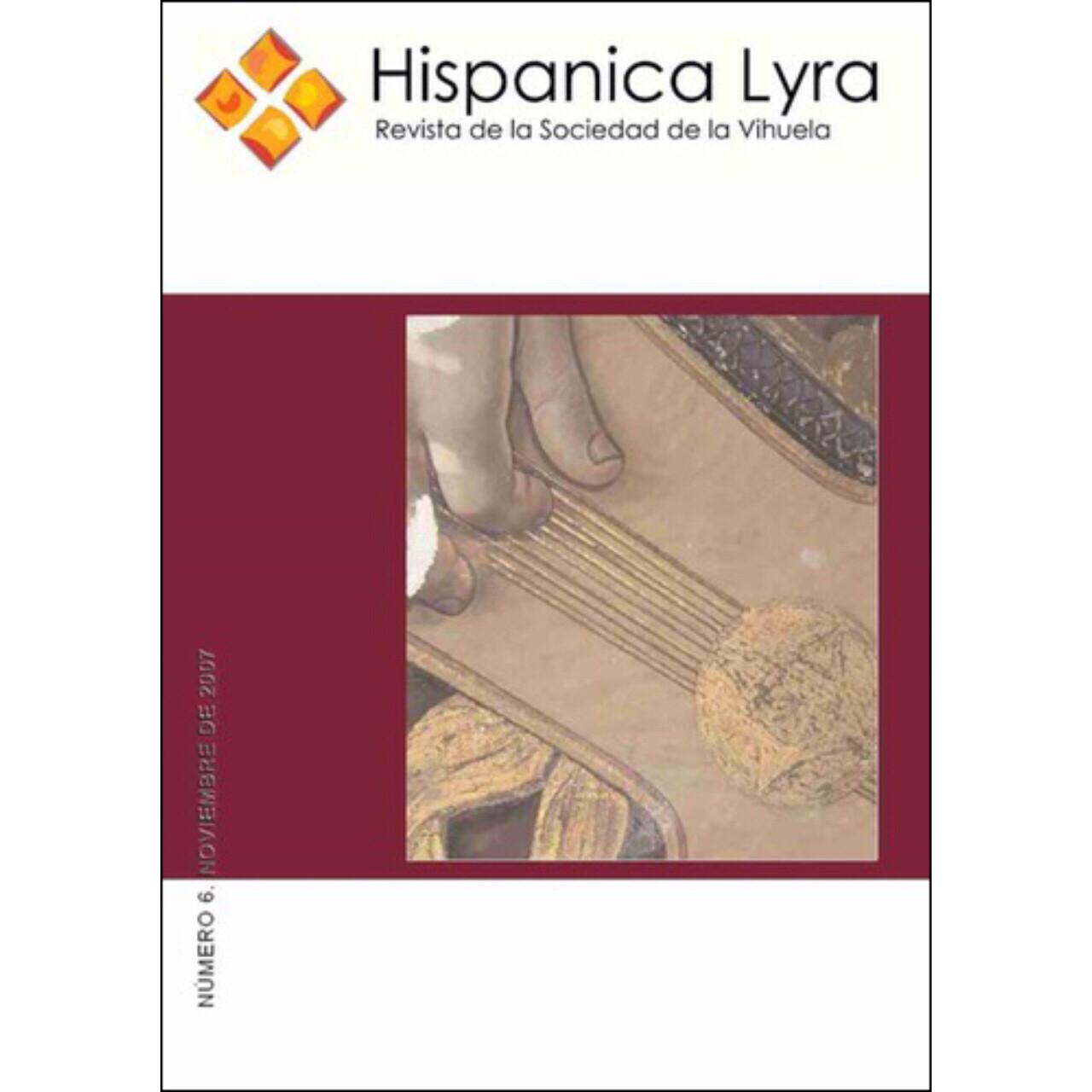 Nº6, noviembre de 2007 [edición digital/digital edition]