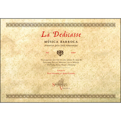 «La Dedicasse». Editores: David Hernández & Gabriel Fernández.