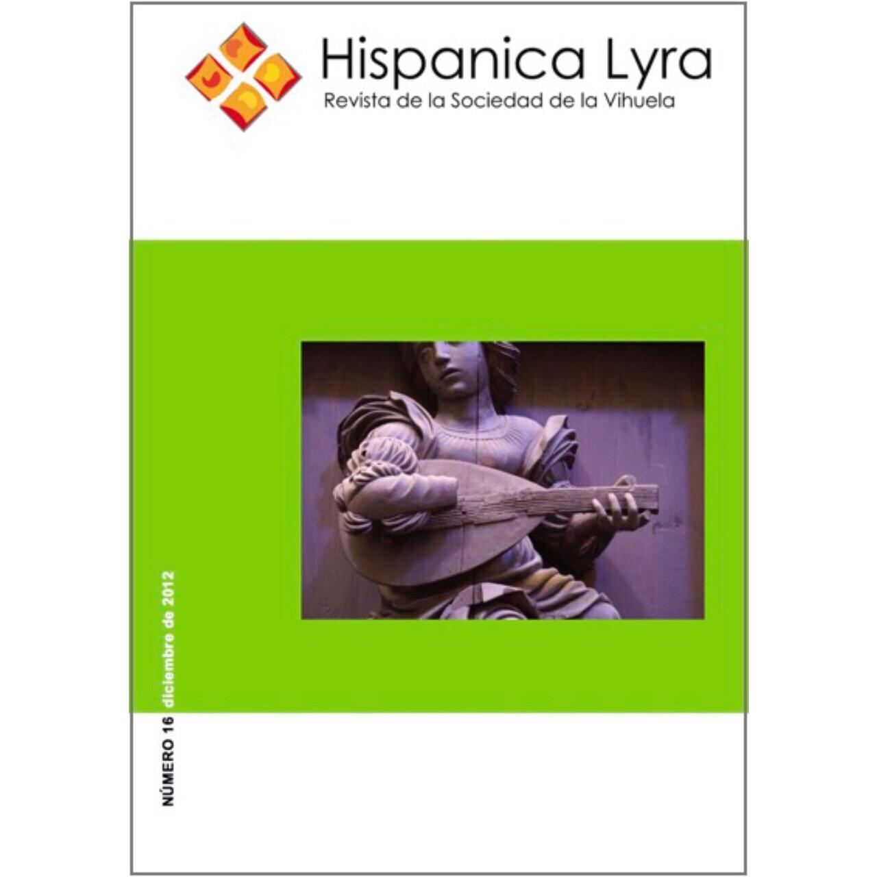 Nº16, diciembre de 2012 [edición digital/digital edition]