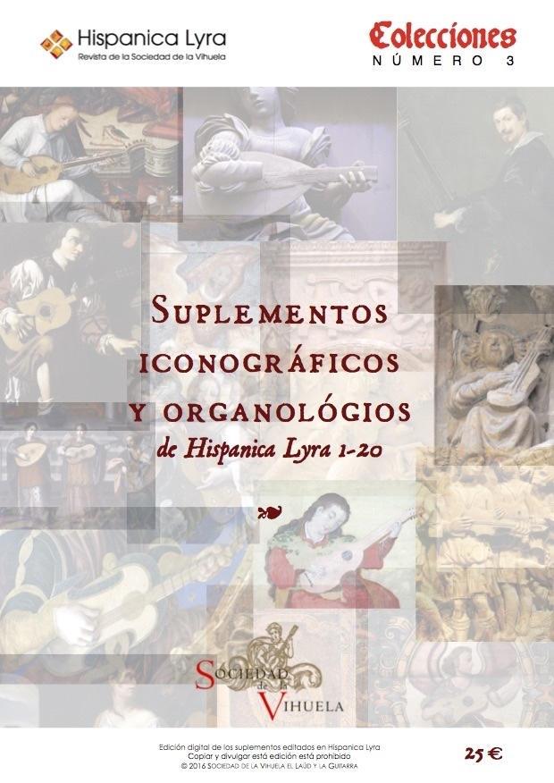 Suplementos iconográficos y organológicos (HL1-20)/ Iconographical and organological supplements (HL1-20)