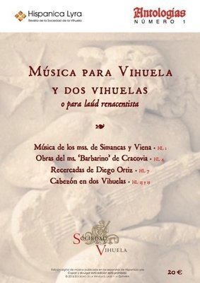 Música para vihuela y dos vihuelas / Music for vihuela and vihuela duo