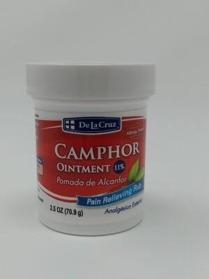 De La Cruz® Camphor Ointment 2.5 Oz.