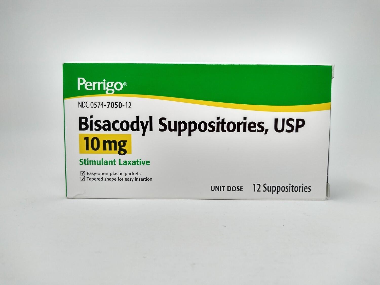 Bisacodyl Suppositories, Usp 10mg