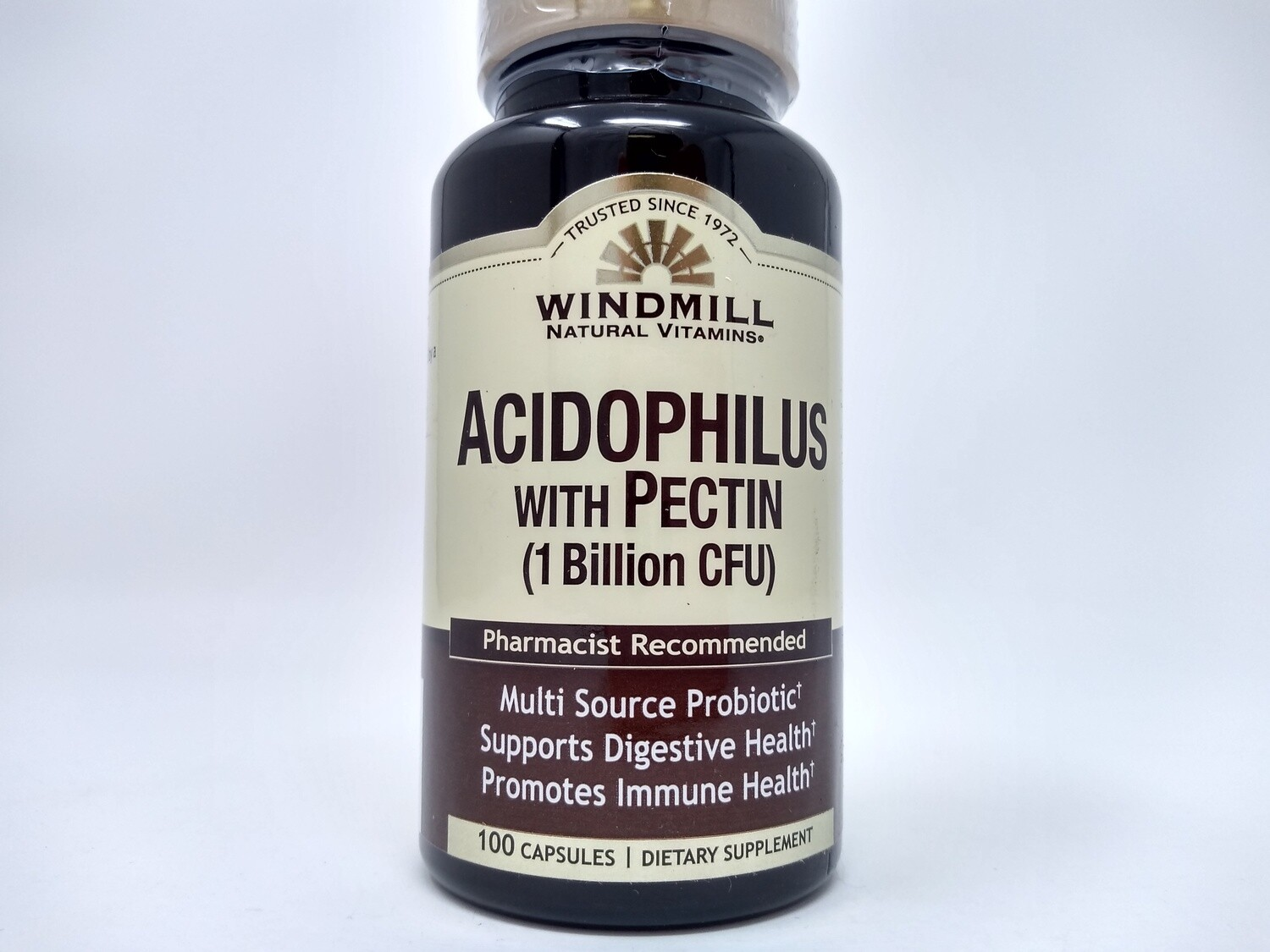 Acidophilus With Pectin  ( 1 Billion CFU )   100 Capsules