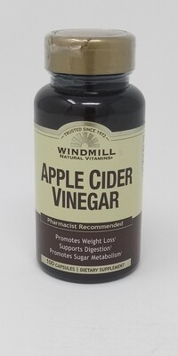 Apple Cider Vinegar    100 Capsules
