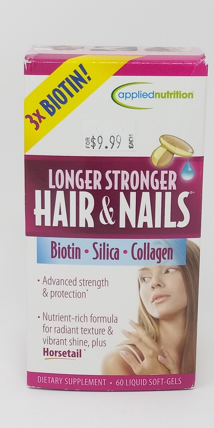 AppliedNutrition Longer Stronger Hair & Nails