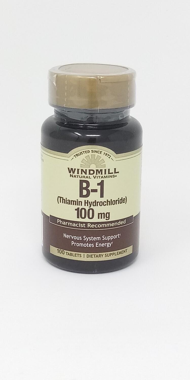 B-1 100mg   100 Tablets