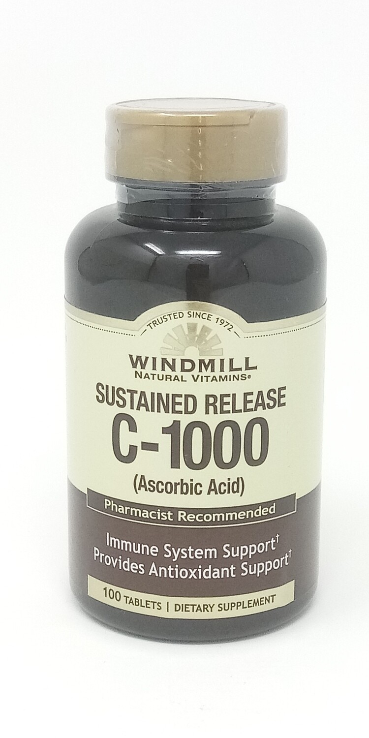 C-1000 Mg Sustained Release      100 Tablets