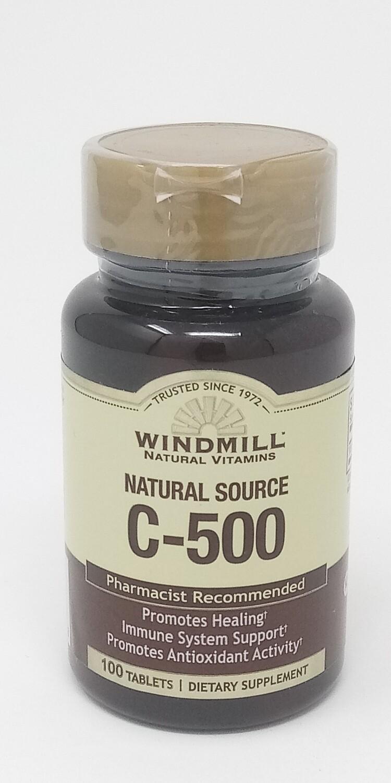 Natural Source C-500 (100 Tablets)