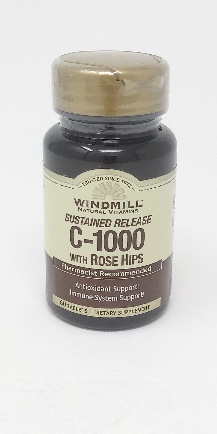 C-1000 With Rose Hips  Sustained Release    60 Tablets