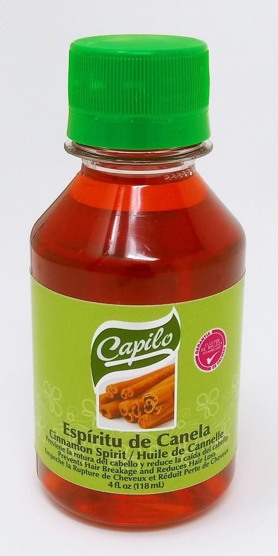 Capilo Espiritu De Canela/ Cinnamon Spirit 4 Oz.