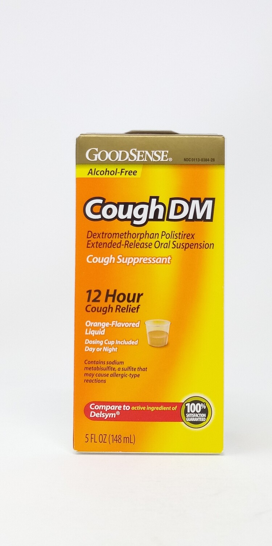 Cough Dm 12 Hour Orange Flavor