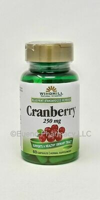 Cranberry Extract 250mg Extract    60 Capsules