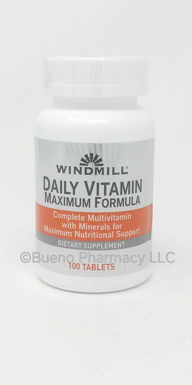 Daily Vitamin Maximum  Formula     100 Tablets