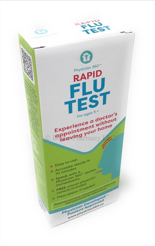 Physician 360 Rapid Flu Test