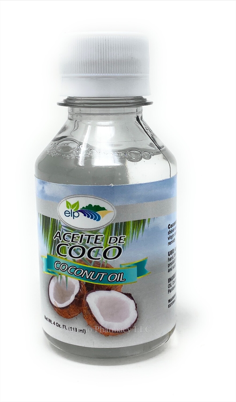 Aceite De Coco /coconut Oil 4oz