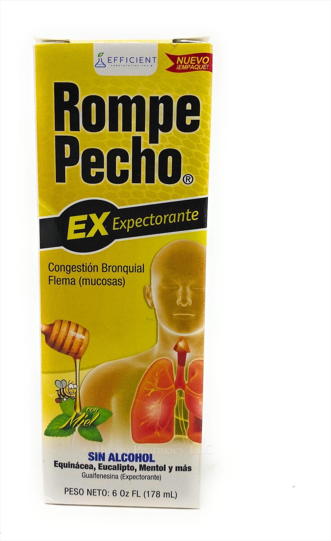 Rompe Pecho Ex (Expectorante) 6oz