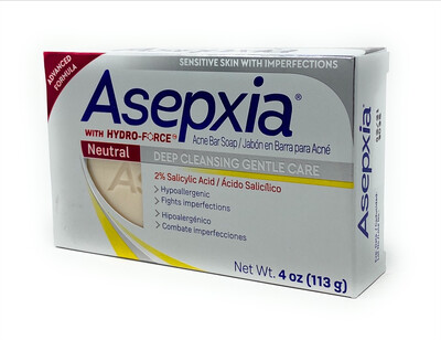 Asepxia Acne Bar Soap Neutral 4oz