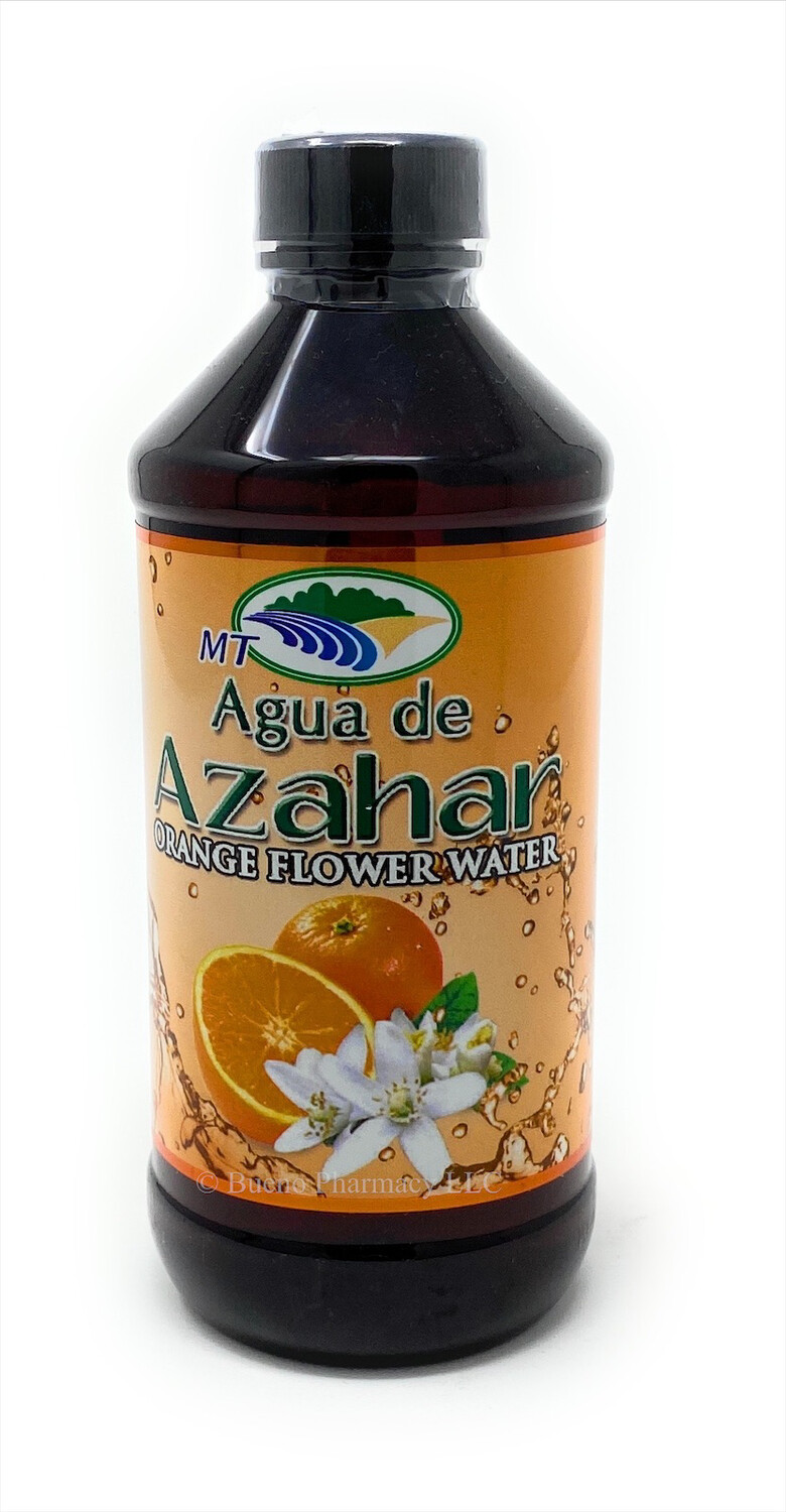 Agua De Azahar Orange Flavor 8oz