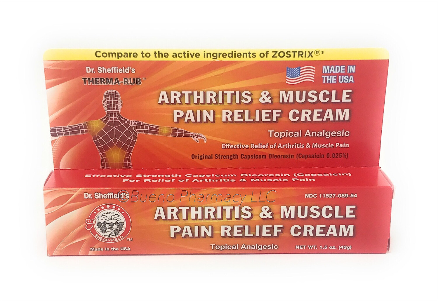 Dr. Sheffield's Arthritis & Muscle Pain Relief Cream