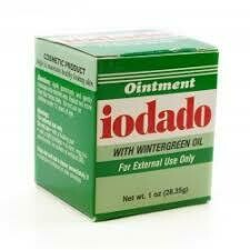 Ointment Iodado with wintergrren oil