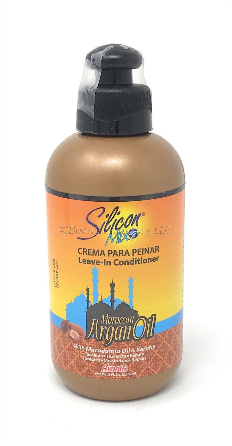 Silicon Argan Leave - In 8 Oz
