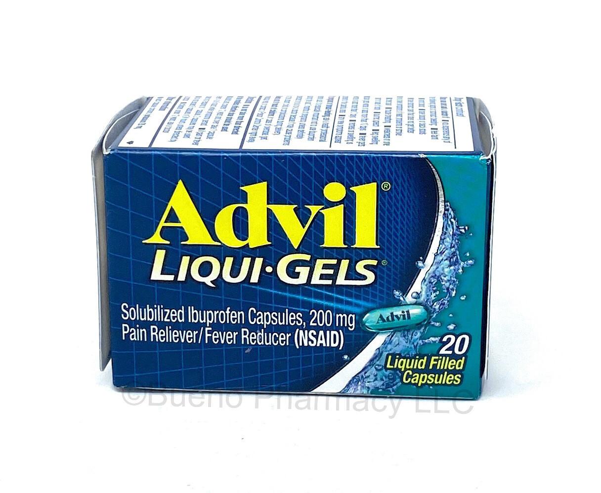 Advil Liqui- Gel 20 Capsules