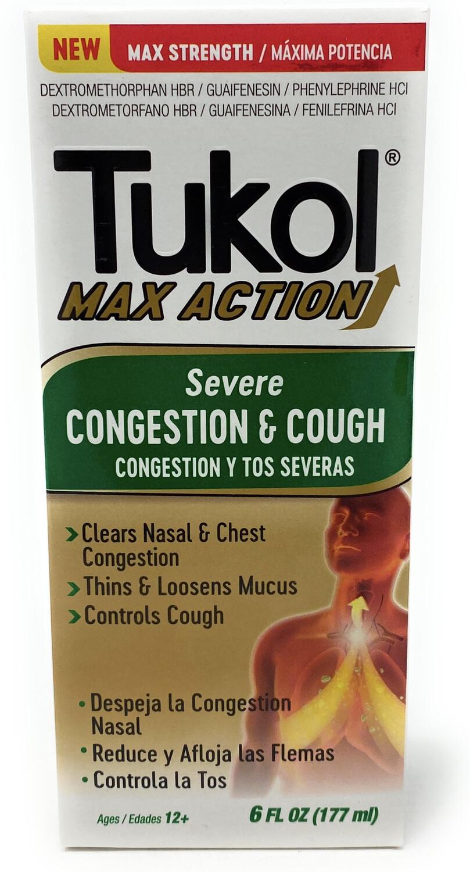 Tukol Max Action Cold,Sore,Thr