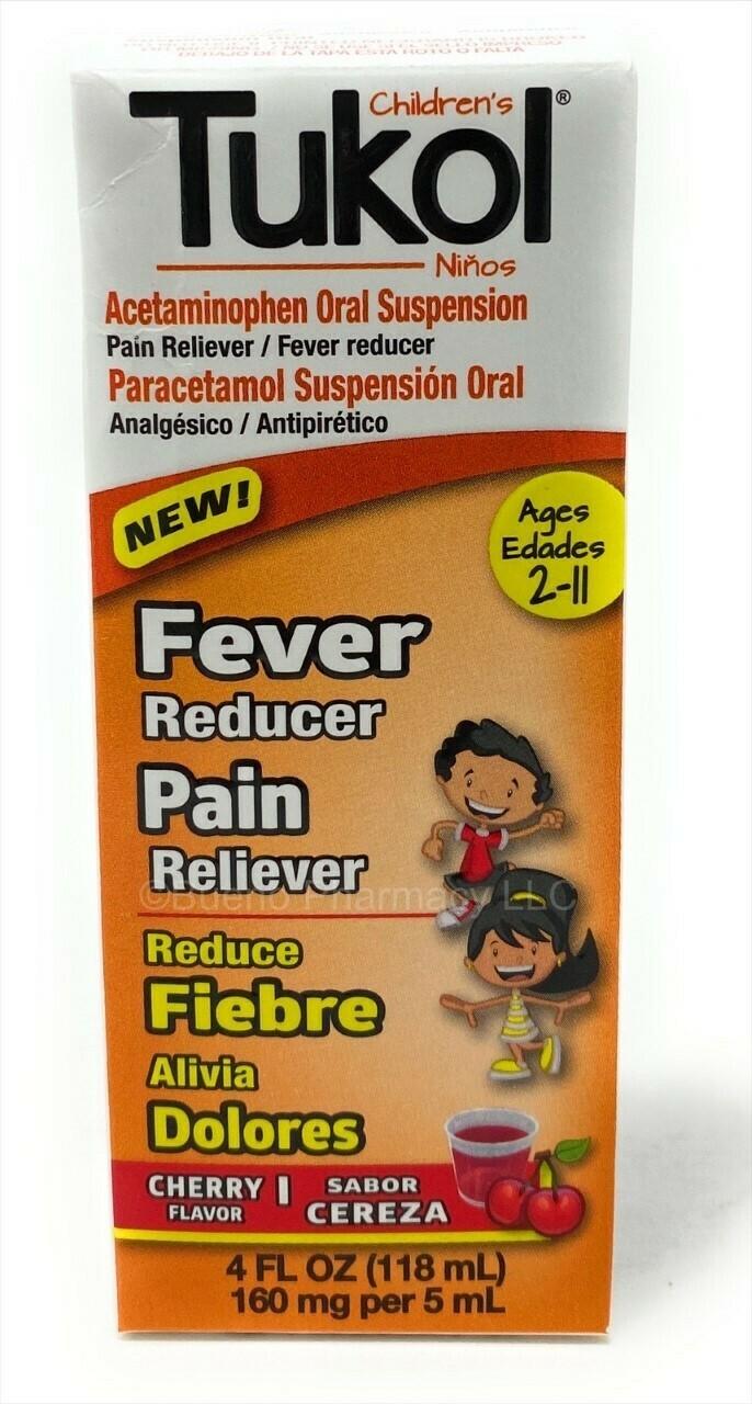 Tukol Pain And Fever 4oz