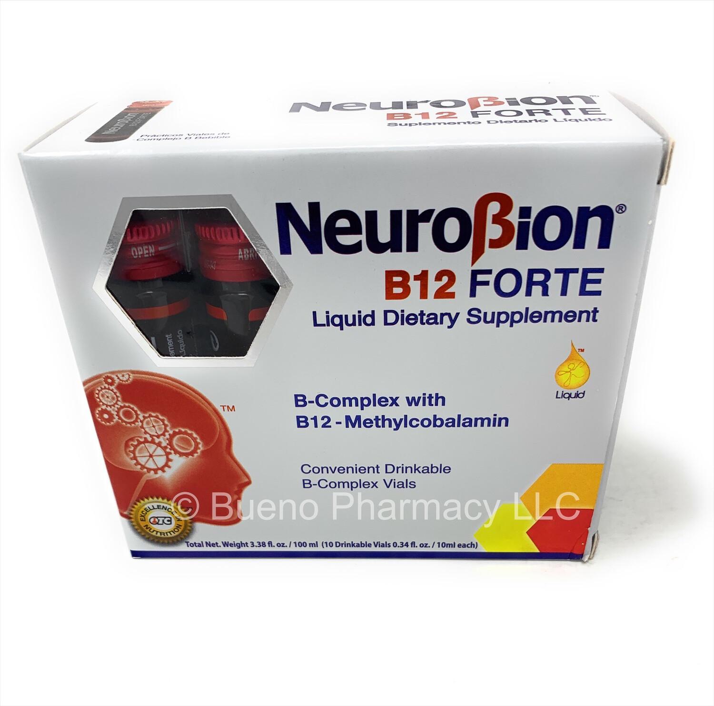 Neurobion B12 Forte x10 Viales 3.38oz