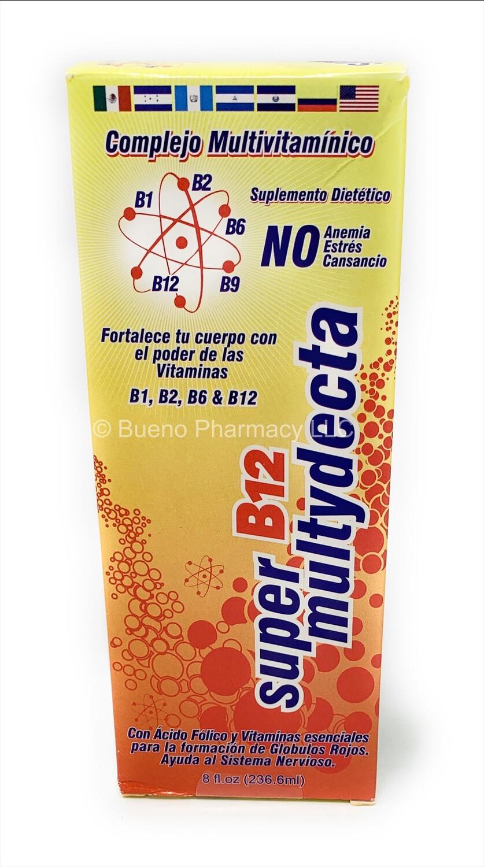 Super Multydecta Liquid B-12