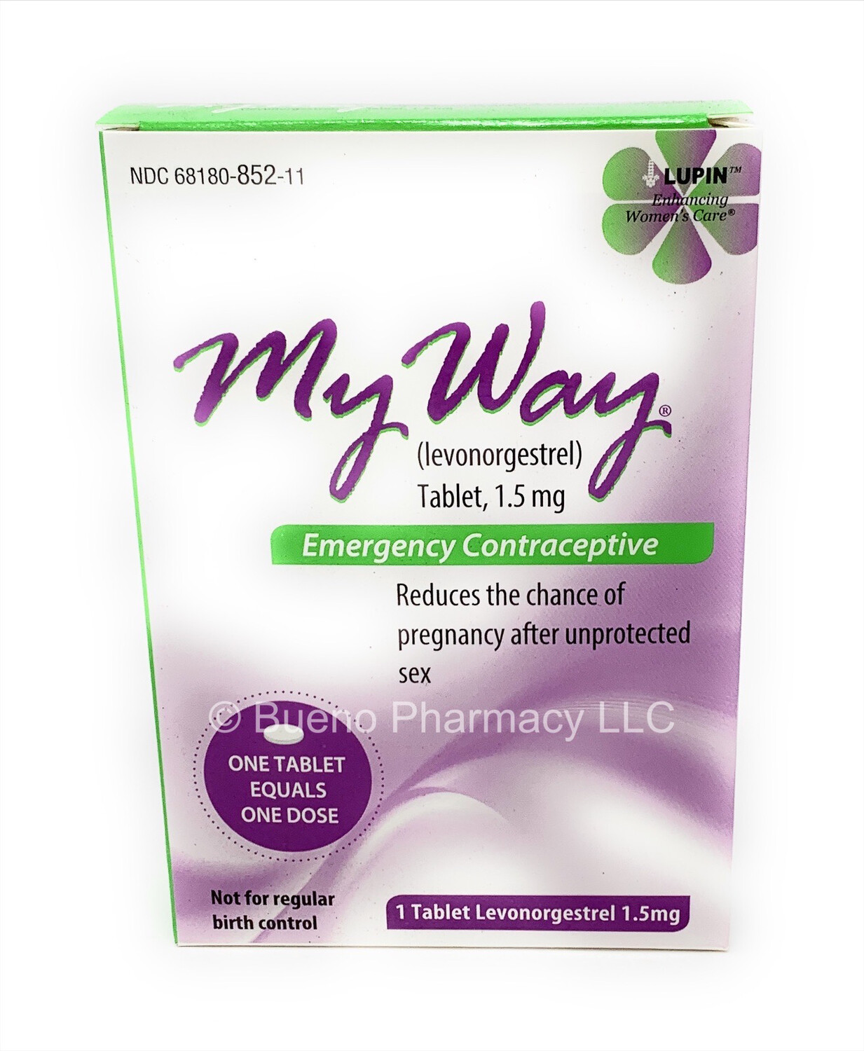 MyWay® (Levonorgestrel) Emergency Contraceptive