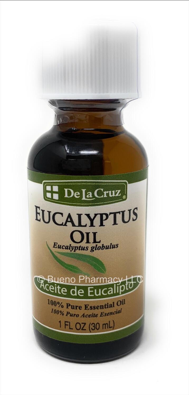 De la Cruz Eucalyptus Oil 1oz