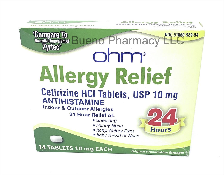 Allergy Relief Ohm