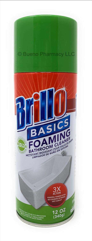 Brillo Basics Foaming Bathroom Cleaner
