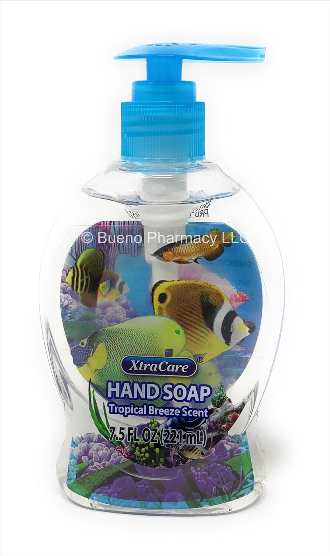 Xtra Soap Hand Soap Tropical Breeze Scents