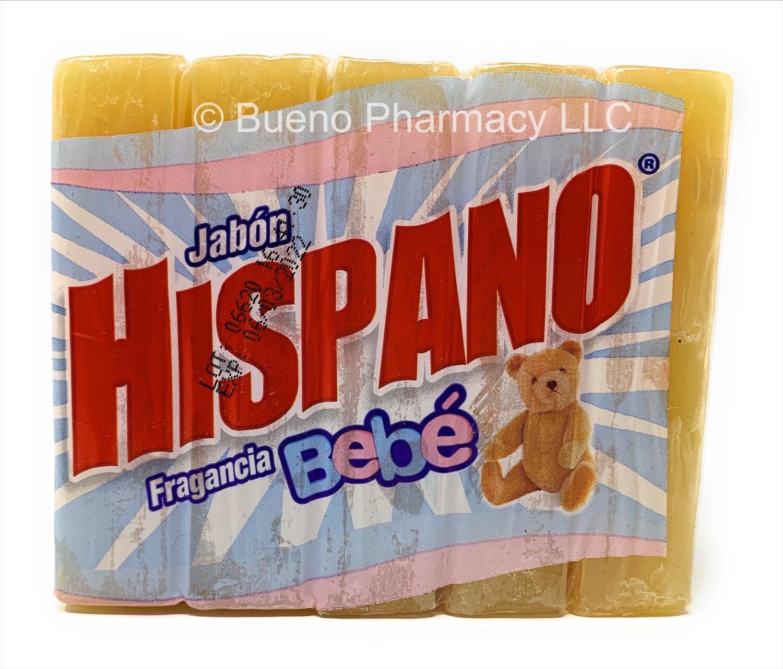 Jabón Hispano Fragancia Bebe