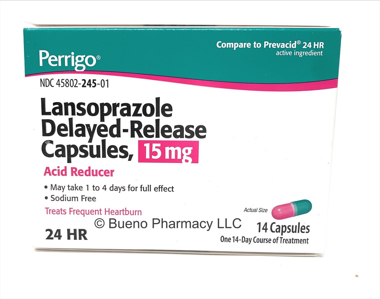 Lansoprazole Delayed - Release Capsules 15mg